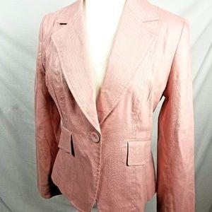 Apt. 9 Pink Linen Jacket